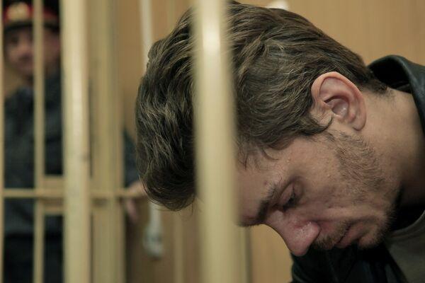 Заключение под стажу Кирилла Устинова в Тверском суде города Москвы