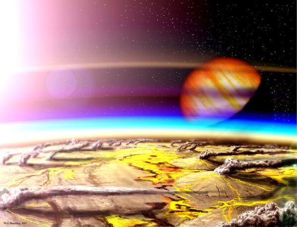 Телескоп Джеймс Уэбб поможет обнаружить вулканы на экзопланетах