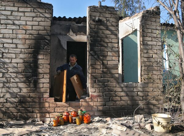Пожары в Алтайском крае