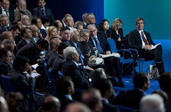Открытие Мирового политического форума в Ярославле
