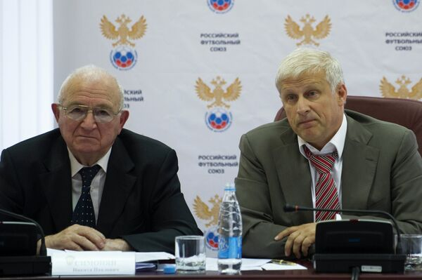 Никита Симонян и Сергей Фурсенко