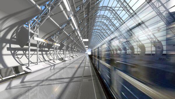 Станция метро Технопарк в виде пирамиды из стекла и металла может появиться в московском районе Нагатино на территории делового квартала Nagatino i-land