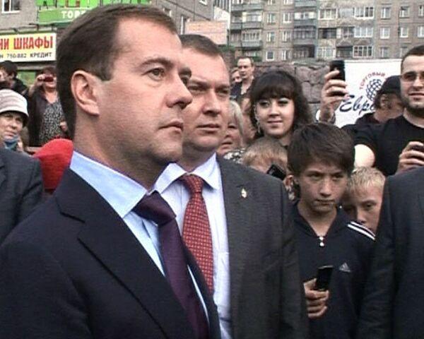 Медведев пообещал муромчанам промыть мозги чиновникам