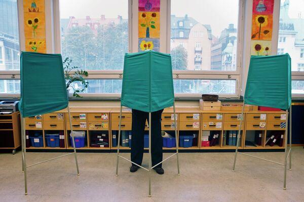 Парламентские выборы в Швеции