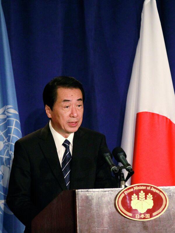 Премьер-министр Японии Наото Кан