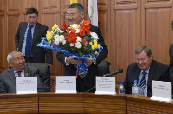 Депутаты утвердили кандидатуру Алексея Орлова на пост главы Калмыкии