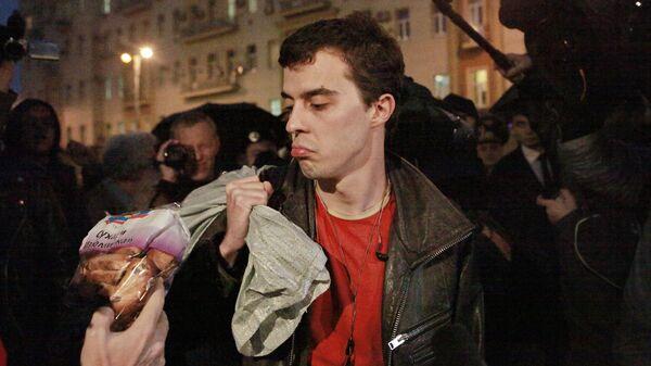 Акция в поддержку отставки Юрия Лужкова