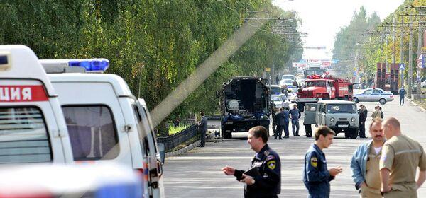 Обнаружение заминированного автомобиля в Ставрополе