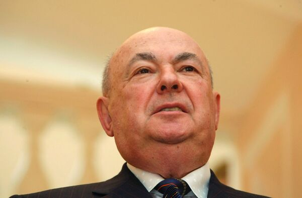 Глава столичного строительного комплекса Владимир Ресин. Архив
