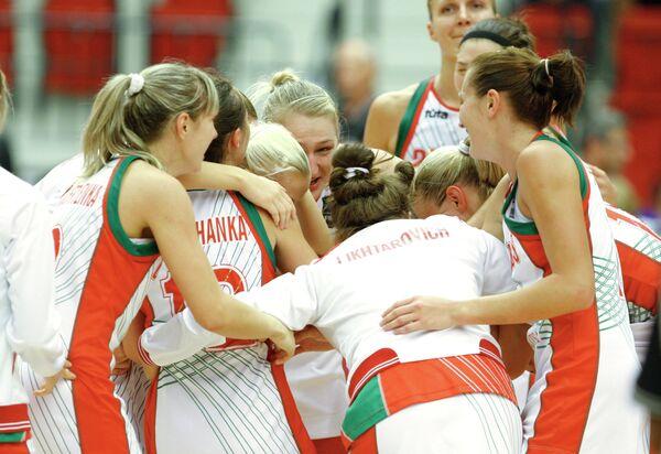 Баскетболистки сборной Белоруссии