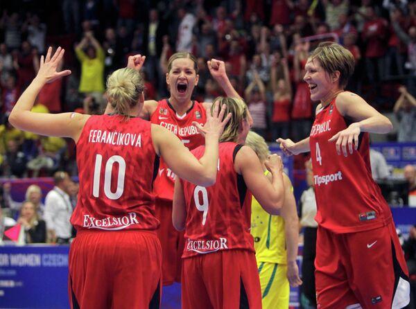 Чешские баскетболистки