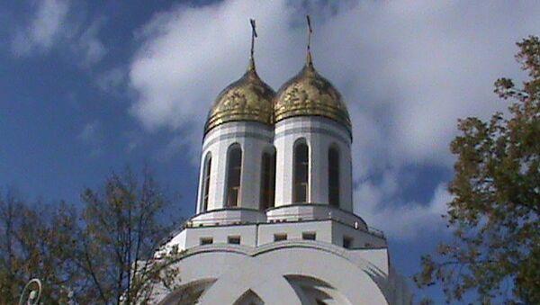 Храм Петра и Февронии в Калининграде