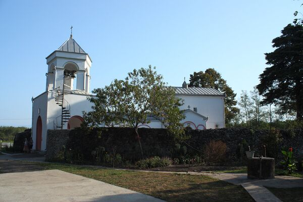 Илорский храм, Абхазия