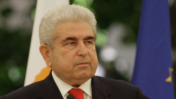 Президент Республики Кипр Димитриос Христофиас. Архив