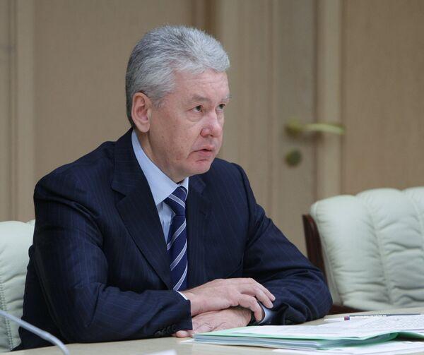 Вице-премьер РФ Сергей Собянин. Архив