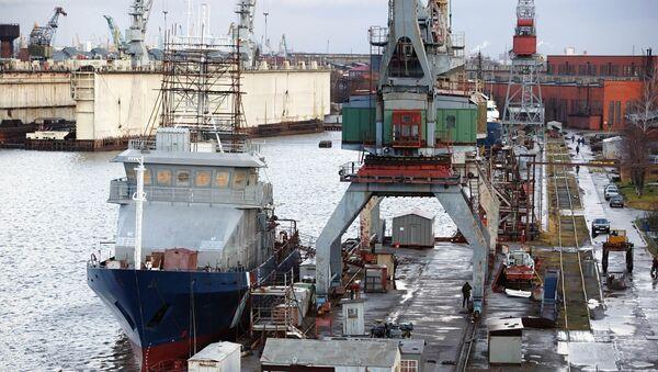 ОАО «Прибалтийский судостроительный завод «Янтарь». Архивное фото