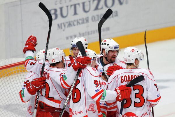 Хоккеисты Спартака
