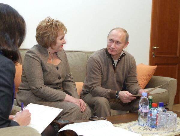 Премьер-министр РФ Владимир Путин принял участие во Всероссийской переписи