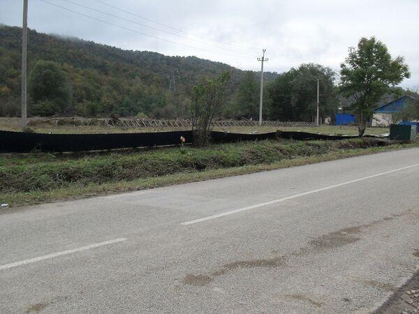 Последствия стихии в селе Георгиевское