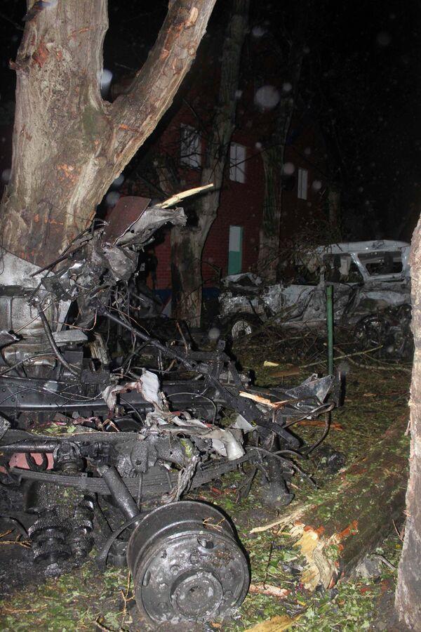 Взрыв в Хасавюрте