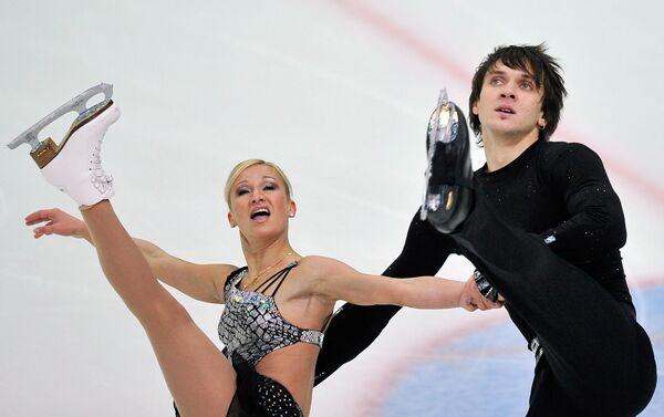 Татьяна Волосожар и Максим Траньков (слева направо)