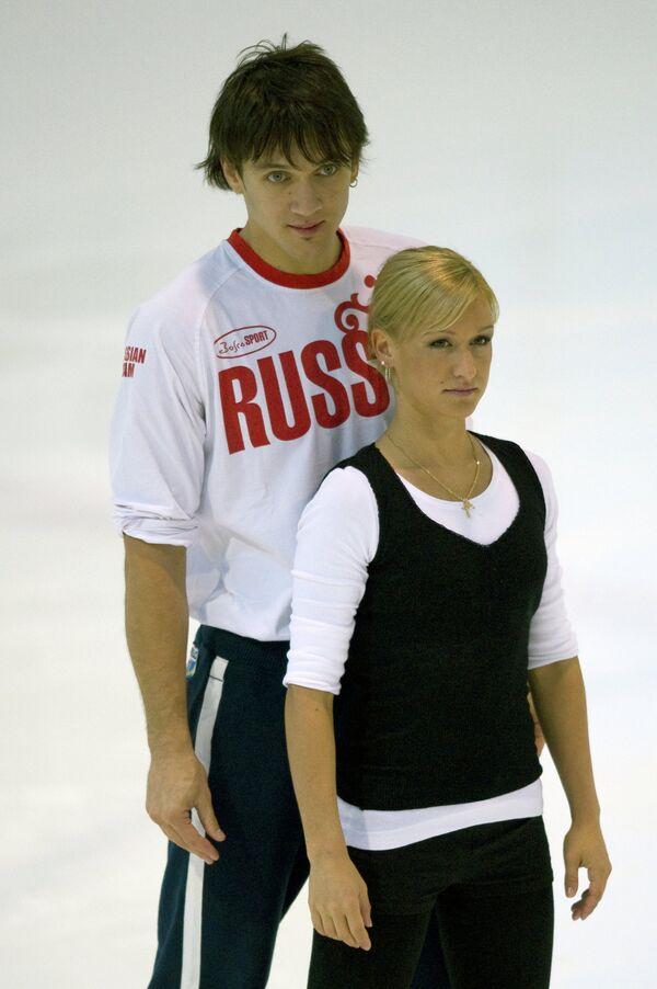 Максим Траньков и Татьяна Волосожар (слева направо)