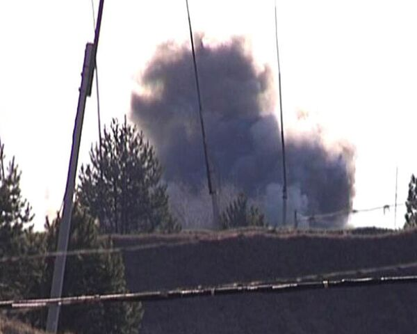 Осколки гранат от взрыва на складе боеприпасов разлетались на 100 метров