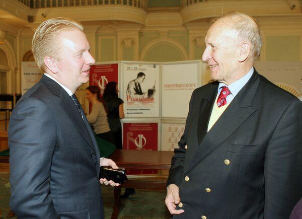 Сергей Федотов (слева) и Александр Рахманинов (справа)