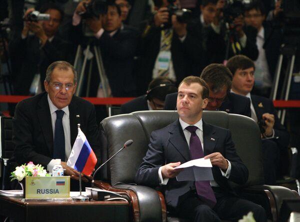 Дмитрий Медведев на саммите Россия - АСЕАН