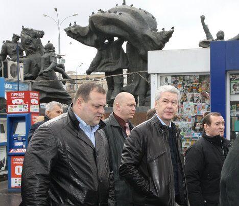 Субботний объезд городских объектов мэром Москвы Сергеем Собяниным