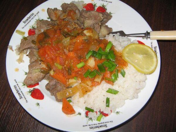Рецепты вкусных блюд для стройной фигуры: свинина с рисом