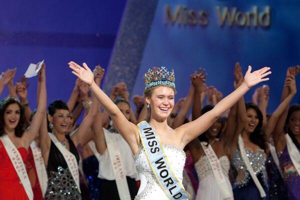 Победительницей конкурса Мисс мира-2010 стала девушка из США