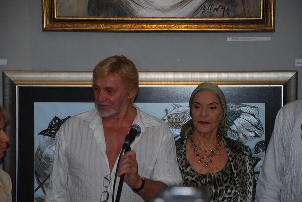 Владимир Васильев и Алисия Алонсо. Гавана, 31 октября 2010 года