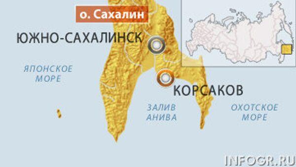 Четыре человека погибли в катастрофе вертолета на Сахалине