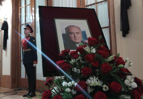 Прощание с экс-главой правительства России Виктором Черномырдиным
