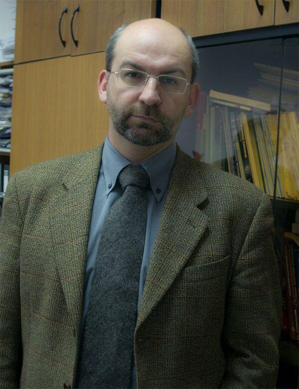 Лауреат премии Пифагора Ярослав Сергеев