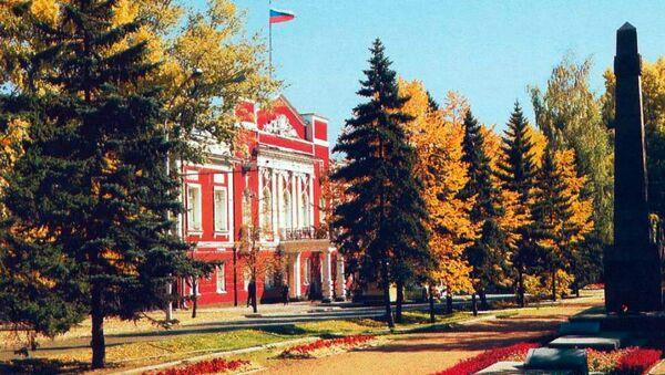 Здание Барнаульской городской Думы. Архивное фото