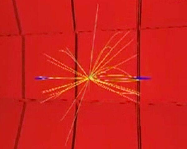 Рождение Z-бозонов в детекторе CMS на Большом адронном коллайдере