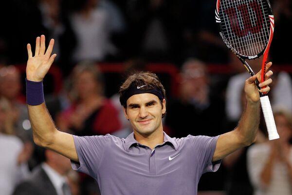 Федерер - в полуфинале теннисного Мастерса в Париже