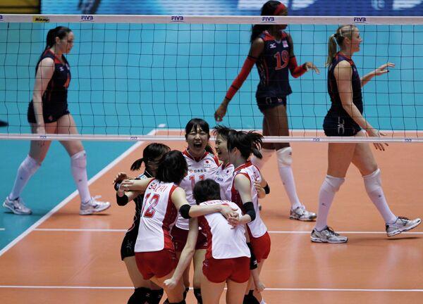 Волейболистки сборной Японии заняли третье место на чемпионате мира