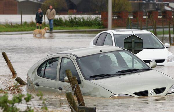 Наводнение в Бельгии в ноябре 2010 года