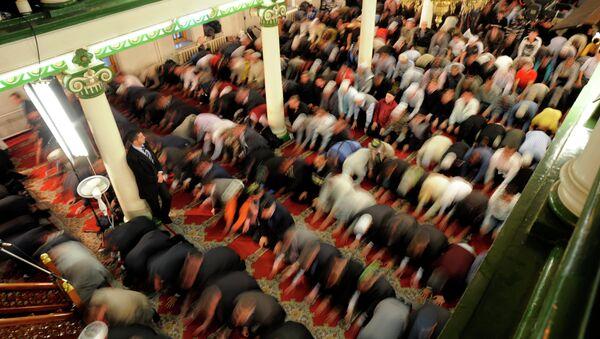 Соборная мечеть в Москве. Архив