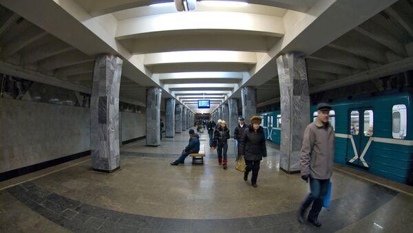 Станции Нижегородского метрополитена. Архивное фото