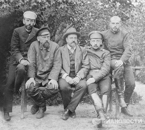 Сыновья писателя Льва Николаевича Толстого