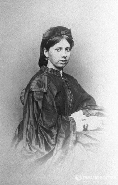 С.А.Берс, будущая жена Л.Н.Толстого