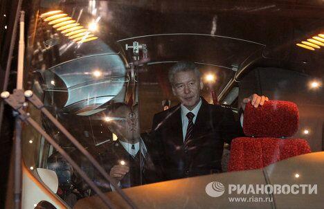 Мэр Москвы Сергей Собянин посетил выставку Транспорт России