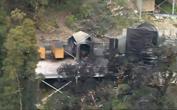 Взрыв на шахте на острове Южный в Новой Зеландии