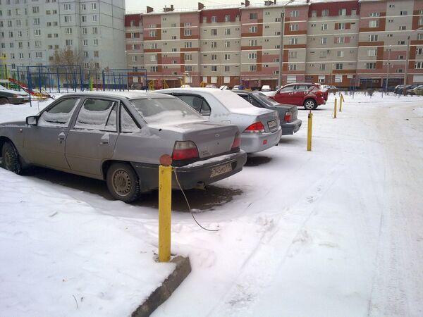 Парковка. Архив