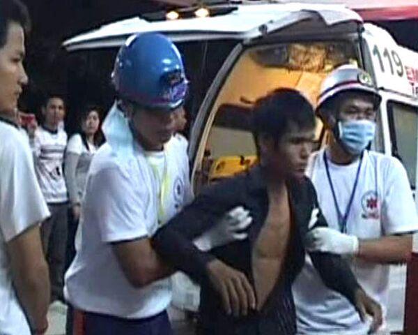 Первые минуты после трагедии в Камбодже. Видео с места ЧП