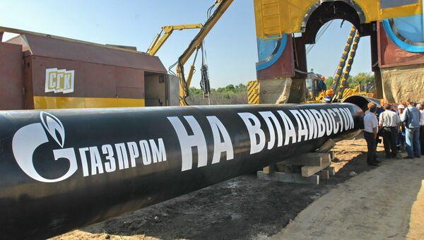 Начались испытания газопровода Сахалин-Хабаровск-Владивосток